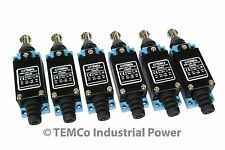 6 pc TEMCo Roller Plunger Limit Switch CNC Mill Plasma Router Lathe home LOT