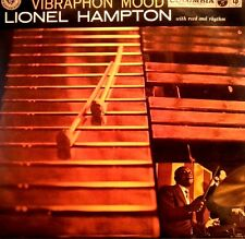 LIONEL HAMPTON  LP RECORD VIBRAPHON MOOD MADE IN JAPAN