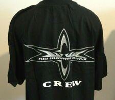 Vintage WCW  CREW - Black Shirt L NWOTS VERY RARE