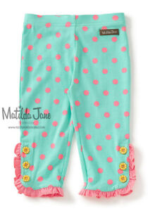 GIRLS MATILDA JANE Brilliant daydream Lots Of Dots Leggings SIZE 8 NWT