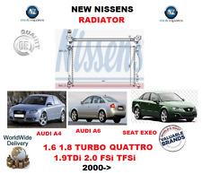 FOR AUDI A4 A6 SEAT EXEO 1.6 1.8 2.0 TURBO TDi FSi TFSi 16V 2000-  NEW RADIATOR