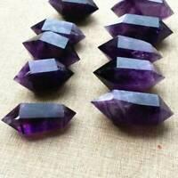 4-5cm Natural Purple Amethyst Quartz Crystal Point Wand Obelisk Healing DT Tower