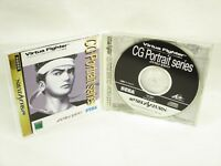 VIRTUA FIGHTER CG PORTRAIT SERIES 3 AKIRA YUKI Item ref/ccc Sega Saturn Game ss