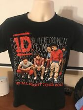 Vintage One Direction Up All Night Concert Tour Band Tee T Shirt Rare