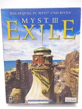 Gioco PC-Myst III (3) Exile (con imballo originale) (BIGBOX)