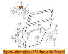 TOYOTA OEM 09-12 RAV4 Lock Hardware-Rear Door-Cover 6922742070L8
