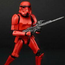 "Star Wars CRIMSON STORMTROOPER 6"" Figure Red The Black Series EE Exclusive"