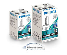 COPPIA LAMPADE D1S 4800K PHILIPS X-TREME FARI XENON AUDI VOLKSWAGEN BMW + 50%