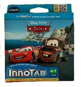 VTech -Disney Pixar Cars 2  InnoTab Software Game Learn Educational Unisex Best