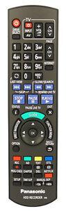 Genuine Panasonic N2QAYB000780 HDD Recorder Remote Control