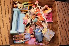 Lg FRP Mail LOT Loving Family Dollhouse Furniture Access. w/Dolls GRAB BOX LOT#4