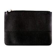 OROTON Entourage Zip Case - Black Leather - BNWT