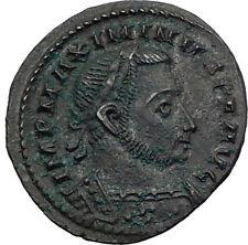 MAXIMINUS II Daia 311AD Londinium London Mint Ancient Roman Coin GENIUS i64048