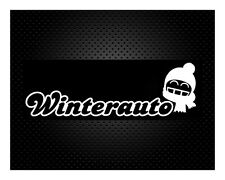 Winterauto Auto Aufkleber Sticker JDM Winter 19x6cm