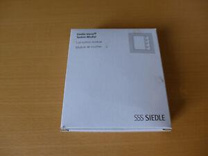 SSS SIEDLE - Vario Tastenmodul - TM 612-4 W mit Garantie EAN: 4015739355259