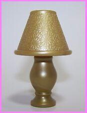Barbie Dollhouse Diorama LAMP My Scene Chelsea Getting Ready My Room GOLD Lamp