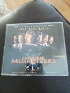 Bryan Adams, Rod Stewart & Sting - All For Love - CD Single