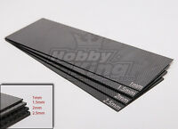 New RC Woven Carbon Fiber Sheet 300X100 1.0mm Thick Strong/Light 1 Sheet USA