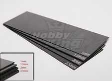 New RC Woven Carbon Fiber Sheet 300X100 1.0mm Thick Strong/Light 1 Sheet USA