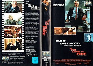 (VHS) In the Line of Fire - Die zweite Chance - Clint Eastwood, John Malkovich