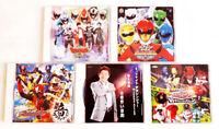 SENTAI (6/6) - Lot de 5 CD B.O. Sentai - Très bon état