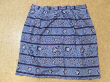 Talbots Floral 100% Rayon Womens Size 18 Skirt Unlined Back Zipper