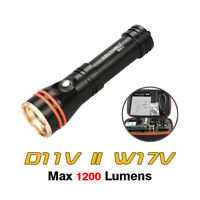 Archon D11V II W17V II Kit Diving Video Photography Underwater Flashlight Torch