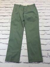 Ralph Lauren men's green chino trousers W34 L32
