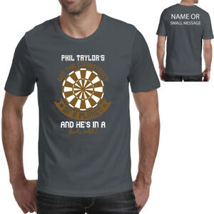 Darts T-shirt Phil Taylor's Got the Consistency of a Planet ... And He's in a