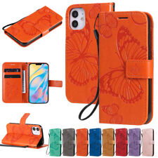 Butterfly Wallet Leather Flip Case Cover For iPhone 12 Pro 11 7 8 Plus XR XS Max