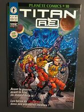 PLANETE COMICS (2ème série) - T10 : Titan A.E.