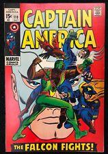 Captain America (1968) #118 FN/VF (7.0) 2nd App Falcon