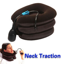 Air Inflatable Pillow Cervical Neck Pain Traction Soft Support Brace Device Tool