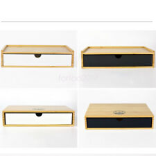 Toiletries storage bamboo hotel guest room dental box storage box container