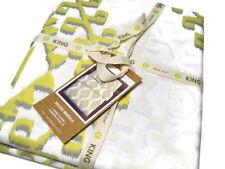 West Elm Organic Cotton Fiber Mandala King Duvet Cover With 2 Euro Shams New