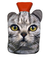 Cat Face Hot Water Bottle New in Original Packaging