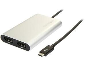 Startech.Com Thunderbolt 3 To Dual Displayport - 4K TB32DP2