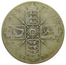 (A77) - Großbritannien United Kingdom - 1 Florin 1920 - George V - G - KM# 817a