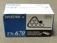 Brother TN-670 TN670 Black Toner Cartridge HL-6050D Genuine New Sealed Box