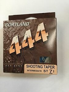 CORTLAND 444 INTERMEDIATE SHOOTING TAPER  ST7I FLY LINE  MSRP $25.00