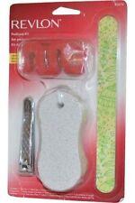 Revlon Pedicure Kit Toe Clip/ Nail File/ Pumice/ Toe Separators