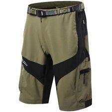 Mens Cycling Shorts Mountain Bike MTB Bicycle Baggy Short Pants Sports Running