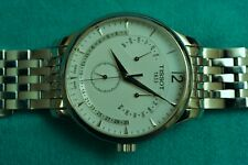 Tissot Tradition Perpetual Calendar Quartz Swiss Made Steel Bracelet Silver Dial