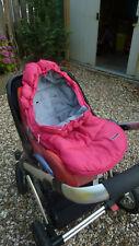 Fußsack, pink, Reißverschluß, Prenatal, für Babyschale