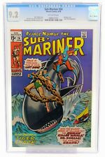 Sub-Mariner # 24 CGC 9.2 Bondage cover Tiger Shark appearance Marvel Comics 1970