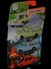 Matchbox Nissan Pick-up  3 x ( 1 x Rallyversion )