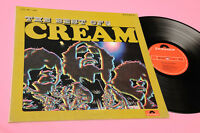 CREAM LP BEST OF JAPAN GATEFOLD COVER AND INSERT