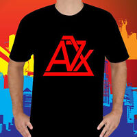 New AVENGED SEVENFOLD A7X Metal Band Logo Men's Black T-Shirt Size S to 3XL