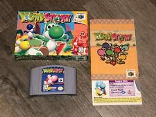 Yoshi's Story Nintendo 64 N64 Complete CIB Excellent Condition Authentic