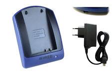 Caricatore (USB/Rete) IA-BP80W per Samsung VP-D395, D395i, DX100, DX100i, DX100H